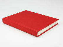 Book with clipping path. A red book against a white background. Vector path included for easy extraction Stock Illustration