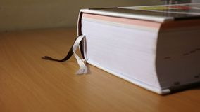 A book. A close view of thick dictionary Stock Images