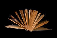 book closingen Arkivfoto