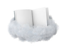 Book on a cloud. Stock Images