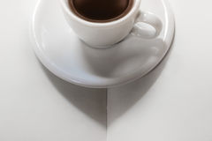 Book and Coffee Stock Photos