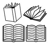 Book collection Royalty Free Stock Photo