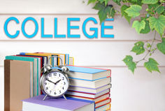 Book and college Stock Photo