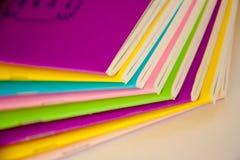 Book colorful stock photos