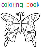 Book coloring stock illustration