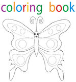 Book coloring vector illustration