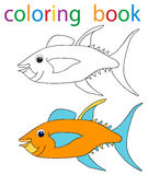 Book coloring Stock Image