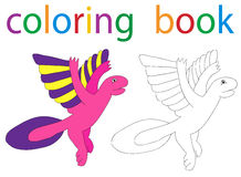 Book coloring Royalty Free Stock Images