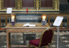 Book of condolence. For people of Japan Royalty Free Stock Photo