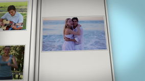 Book with couple videos Stock Images