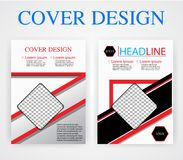 Book cover design template geometry. Vector illustration. You image. Book cover design template geometry. Vector illustration You image royalty free illustration
