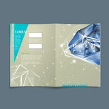 Book cover with diamond element Stock Photography