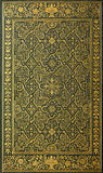 Book cover with golden pattern Stock Images