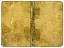 Book Cover Paper. Old Grungy Paper with grainy surface - XXL Size Royalty Free Stock Images
