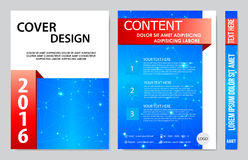 Book cover presentation Royalty Free Stock Images
