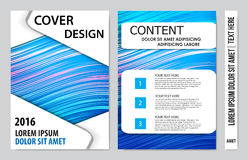 Book cover presentation. Abstract geometric background Royalty Free Stock Images