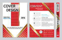 Book cover presentation Royalty Free Stock Photography