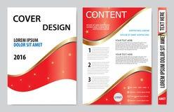 Book cover presentation Stock Image