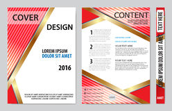 Book cover presentation Stock Photography