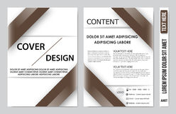 Book cover presentation. Abstract geometric background Royalty Free Stock Photo