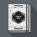 Book cover template Royalty Free Stock Photos
