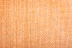Book cover texture. Orange book cover texture close-up Stock Photography