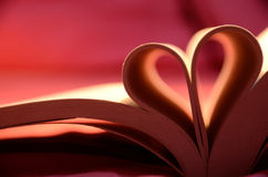 Book. Creative books, book of love, book of love, romantic and beautiful, poetic u ya Royalty Free Stock Images
