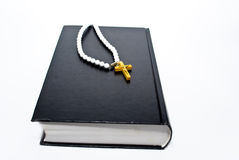 Book and cross Royalty Free Stock Image