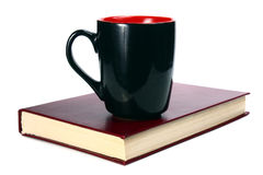 Book and cup Stock Photo