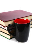 Book and cup Stock Photography