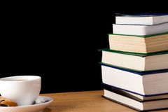Book and cup of coffe Royalty Free Stock Photography