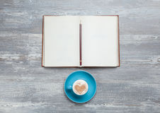Book and cup Royalty Free Stock Image