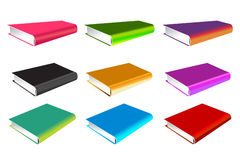Book 3d vector illustration isolated on white Royalty Free Stock Photos