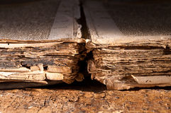 Book of dark ages Royalty Free Stock Image