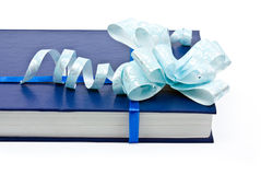 Book with a decoration. Isolated book with a decoration on a white background Stock Photography