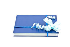 Book with a decoration. Isolated book with a decoration on a white background Royalty Free Stock Images