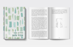 Book design template Royalty Free Stock Photo