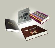 Book design. Vector illustration. Royalty Free Stock Photo
