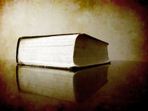 Book on Desk Royalty Free Stock Photo