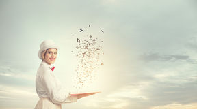 Book that develope your imagination Royalty Free Stock Images