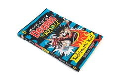 The book, The Diary of Dennis the Menace, Roller Coaster Riot by Steven Butler