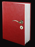 Book door Royalty Free Stock Photos