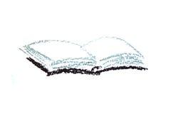 Book drawing Royalty Free Stock Photos