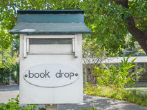 Book drop box Royalty Free Stock Photos