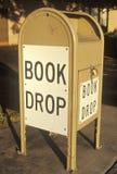 A book drop for the Santa Clara County Library Stock Photo