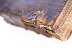 Book edge detail blur Stock Photo