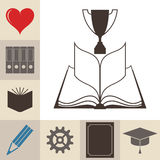 Book. Education. Knowledge Royalty Free Stock Images