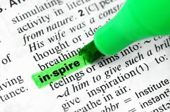 Close Up of Highlighting Specific Word Inspire in. Book education symbol text learning highlighter word stock images