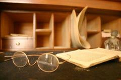 book exponeringsglas Royaltyfri Bild