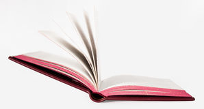Book with fabric cover Royalty Free Stock Images